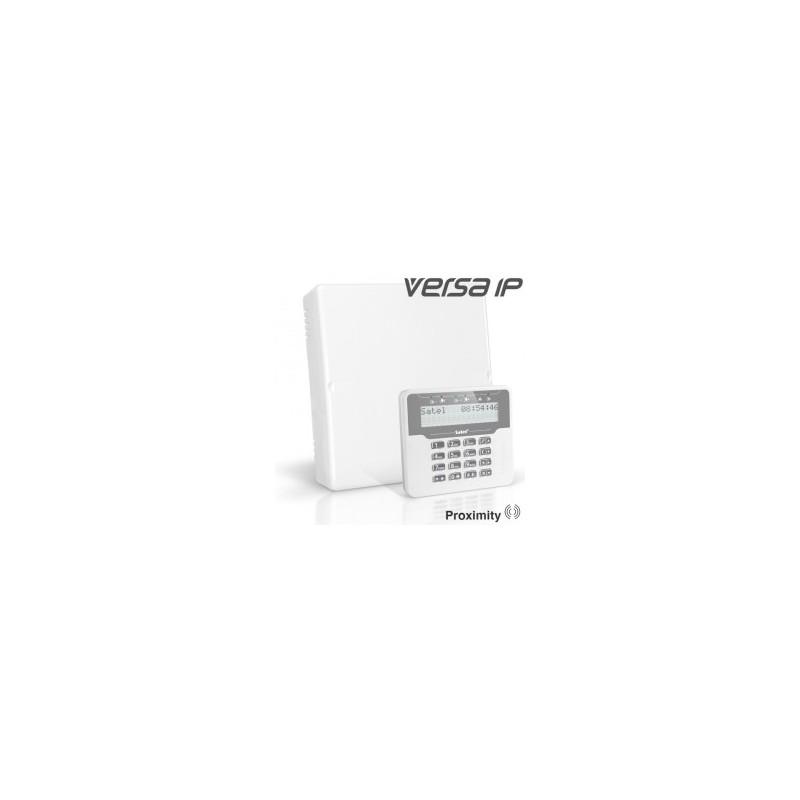 VERSA IP pakket met wit proximity LCD bediendeel