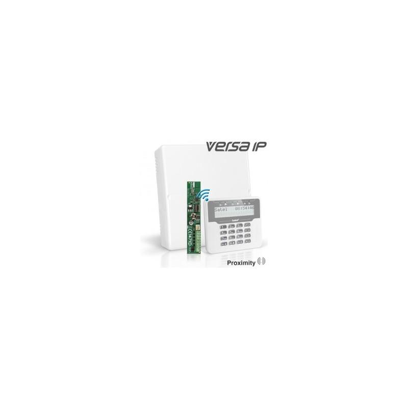 VERSA IP pakket met wit draadloos LCD bediendeel