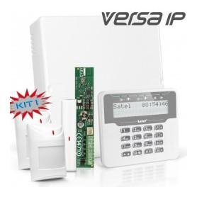 VERSA IP RF pakket met wit Prox. LCD, RF module, draadloos magneetcontact en 2x detector