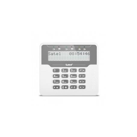Satel VERSA-LCDM-WH bediendeel met groot LCD display
