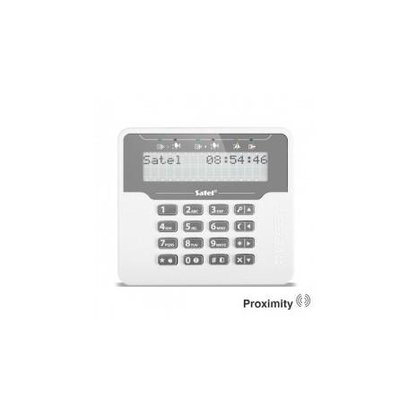 Satel VERSA-LCDR-WH Proximity bediendeel met groot LCD display
