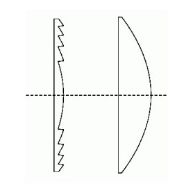 Satel Aqua lens gordijn 22,5 meter