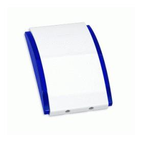 Satel SPW-210BL binnensirene met blauwe omlijsting