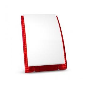 Satel SP-4003R buitensirene met rode LED flitser