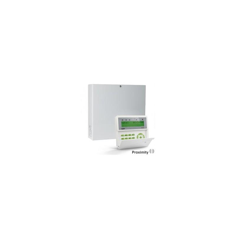 InteGra 64 PLUS pakket met groen prox LCD bediendeel