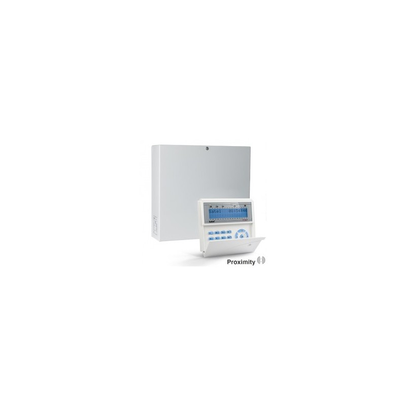 InteGra 64 PLUS pakket met blauw prox LCD bediendeel