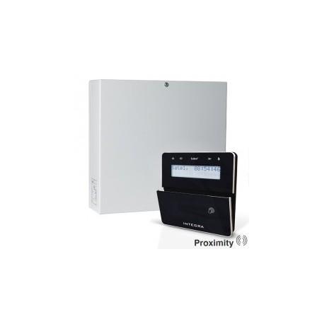 InteGra 64 PLUS pakket met zwart prox LCD bediendeel