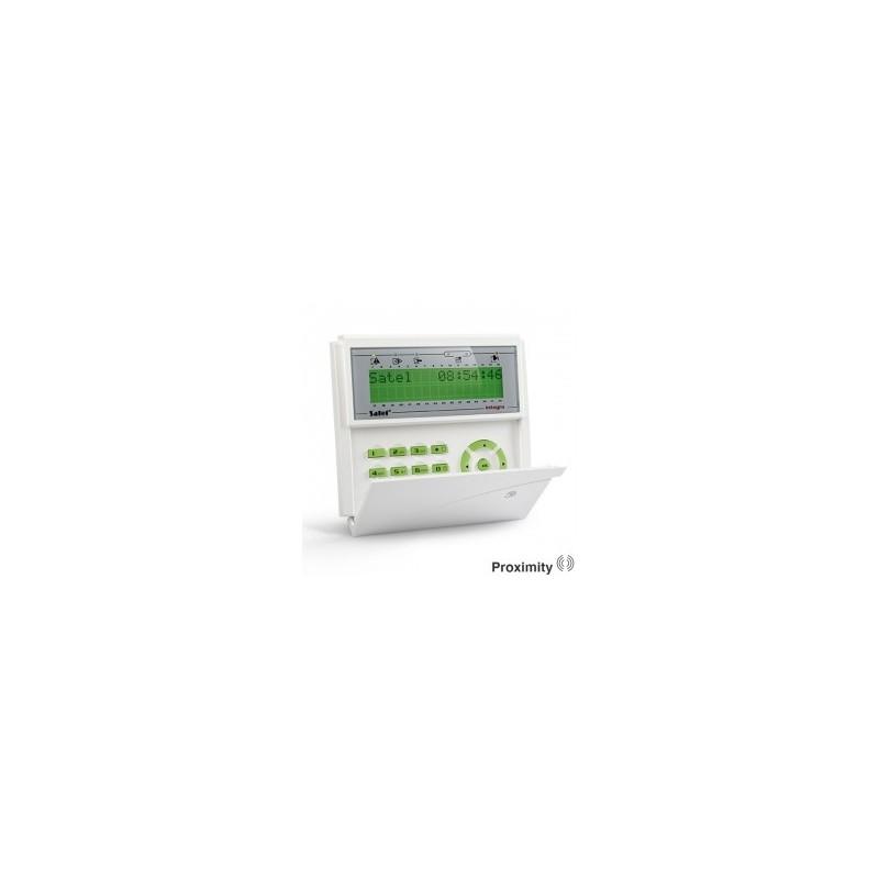 Satel INT-KLCDR-GR groen InteGra LCD prox bediendeel