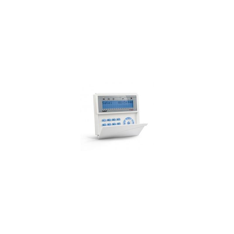 Satel INT-KLCD-GR blauw InteGra LCD bediendeel
