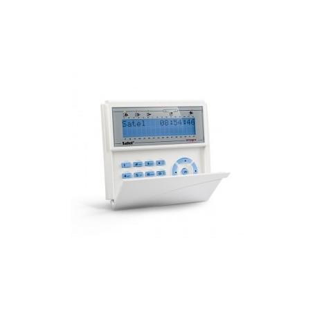 Satel INT-KLCD-BL blauw InteGra LCD bediendeel