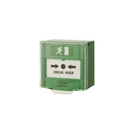 Resetbare nooddrukker groen