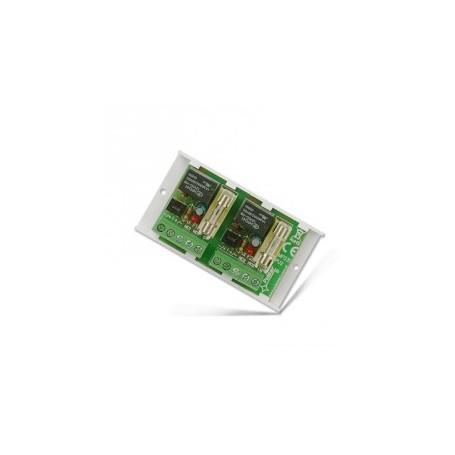 Relais dubbel wissel 10-16VDC/VAC 1Amp