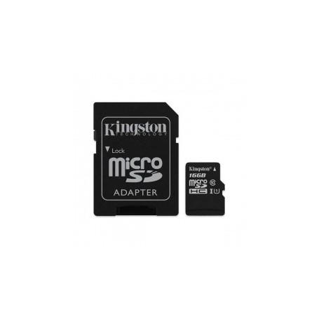 Micro SD kaart 16GB t.b.v. INT-TSG