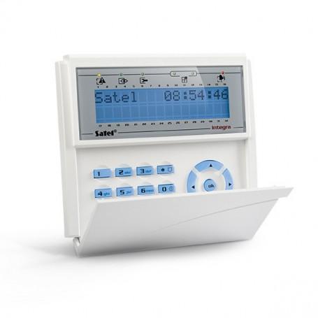 Satel INT-KLCDR-GR blauw InteGra LCD prox bediendeel