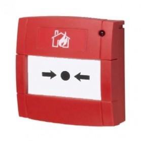 Conventionele handmelder rood