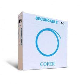 Cofer 200 meter 6 x 0.22mm2 soepele onafgeschermde alarmkabel in doos