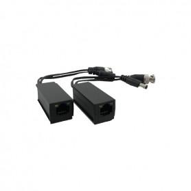 LLT-223-4K HD-CVI/HD-TVI/AHD compacte balun set power/video