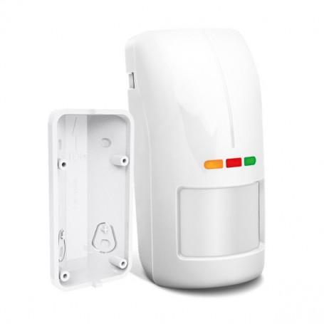 OPAL Pro (wit) - Dual detector met anti-masking voor binnen/buiten, incl. hoekbeugel