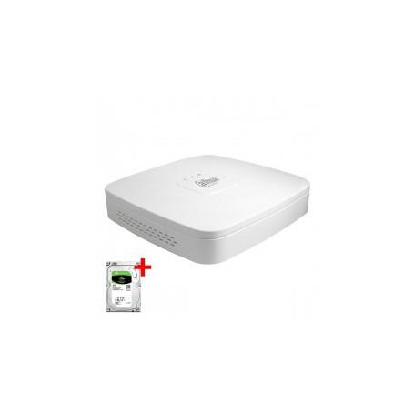 Dahua XVR5108C-X incl. 2TB harddisk, 8 kanalen CVI/TVI/AHD, Analoog en IP