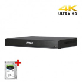 Dahua XVR7108HE-4KL-X incl. 2TB harddisk, 8 kanalen CVI/TVI/AHD, Analoog en IP 1080P Realtime