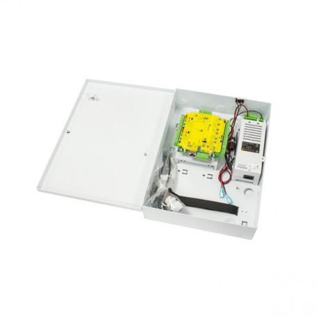 Paxton Net2 Plus 1 deurcontroller met 12V/2A voeding in metalen behuizing