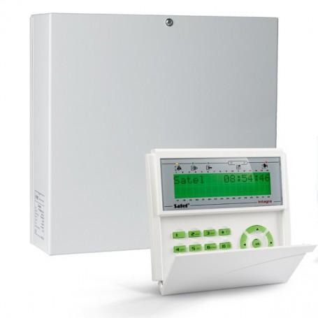 InteGra 32 pakket met groen LCD bediendeel en IP module