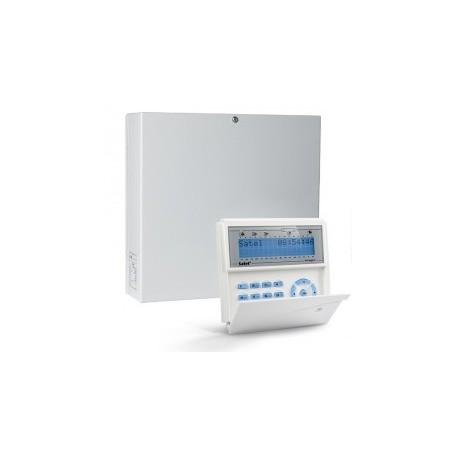 InteGra 32 pakket met blauw LCD bediendeel en IP module