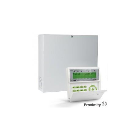 InteGra 32 pakket met groen proximity LCD bediendeel en IP module