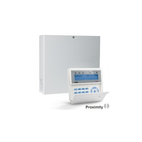 InteGra 32 pakket met blauw proximity LCD bediendeel en IP module