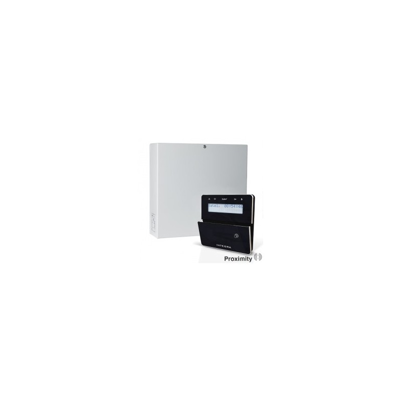 InteGra 32 pakket met zwart KLFR proximity LCD bediendeel en IP module