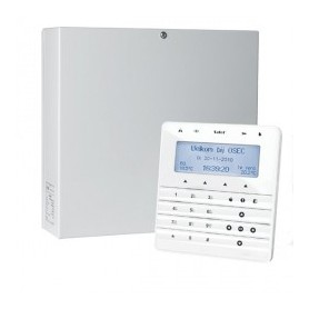 InteGra 32 pakket met wit KSG soft touch LCD bediendeel en IP module