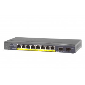 Netgear - GS110TP-200EUS 8-Poorts Gigabit PoE switch