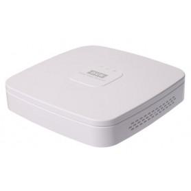 Dahua NVR4104-4P-4KS2 incl. 1TB harddisk, Realtime 4 IP camera's