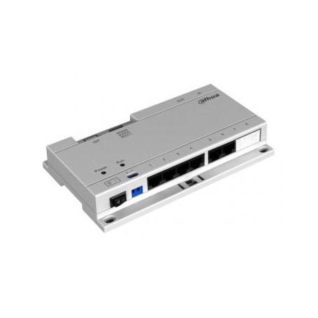 Dahua VTNS1060A PoE Distributie switch met voeding