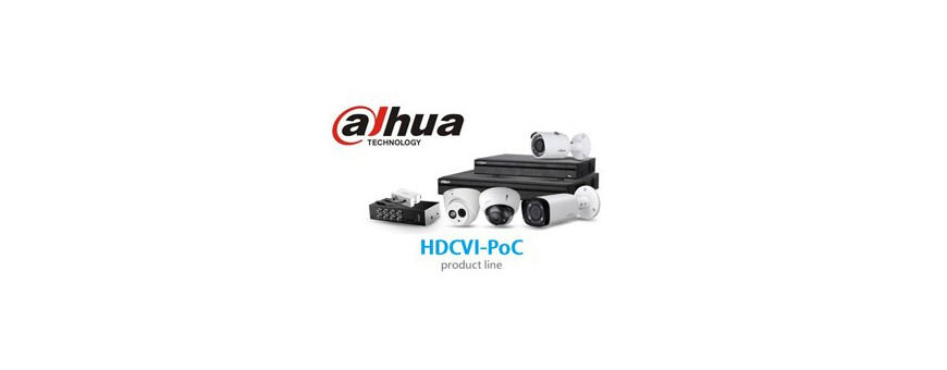 Dahua Power Over Coax (POC) recorders